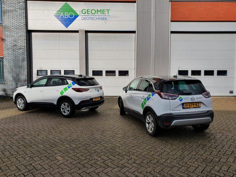 Nieuwe auto's voor Geomet